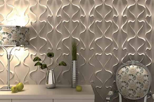 You can be a designer with decorative wall panels