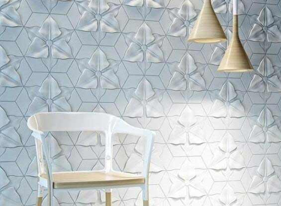 Fiber Cement 3D Decorative Wall Panel