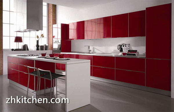 One Inquiry of Acrylic Kitchen Cabinet from Canada