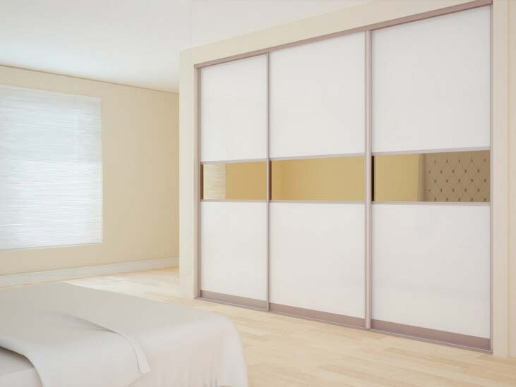 To save more space?Wall wardrobe cabinet will be a good choice!