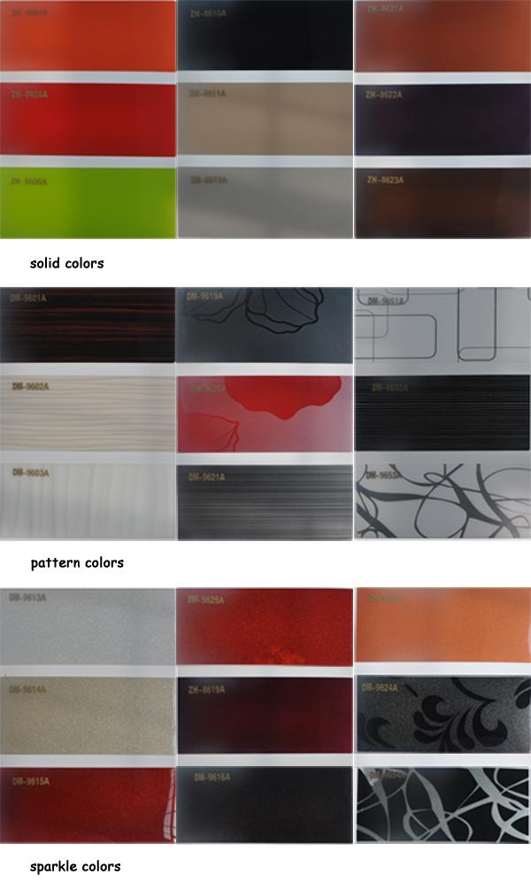 Metallic Color 1mm Acrylic Sheet