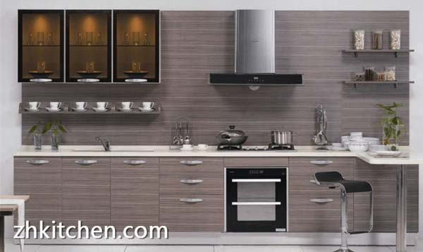 Custom made UV kitchen cabinet China in Guangzhou